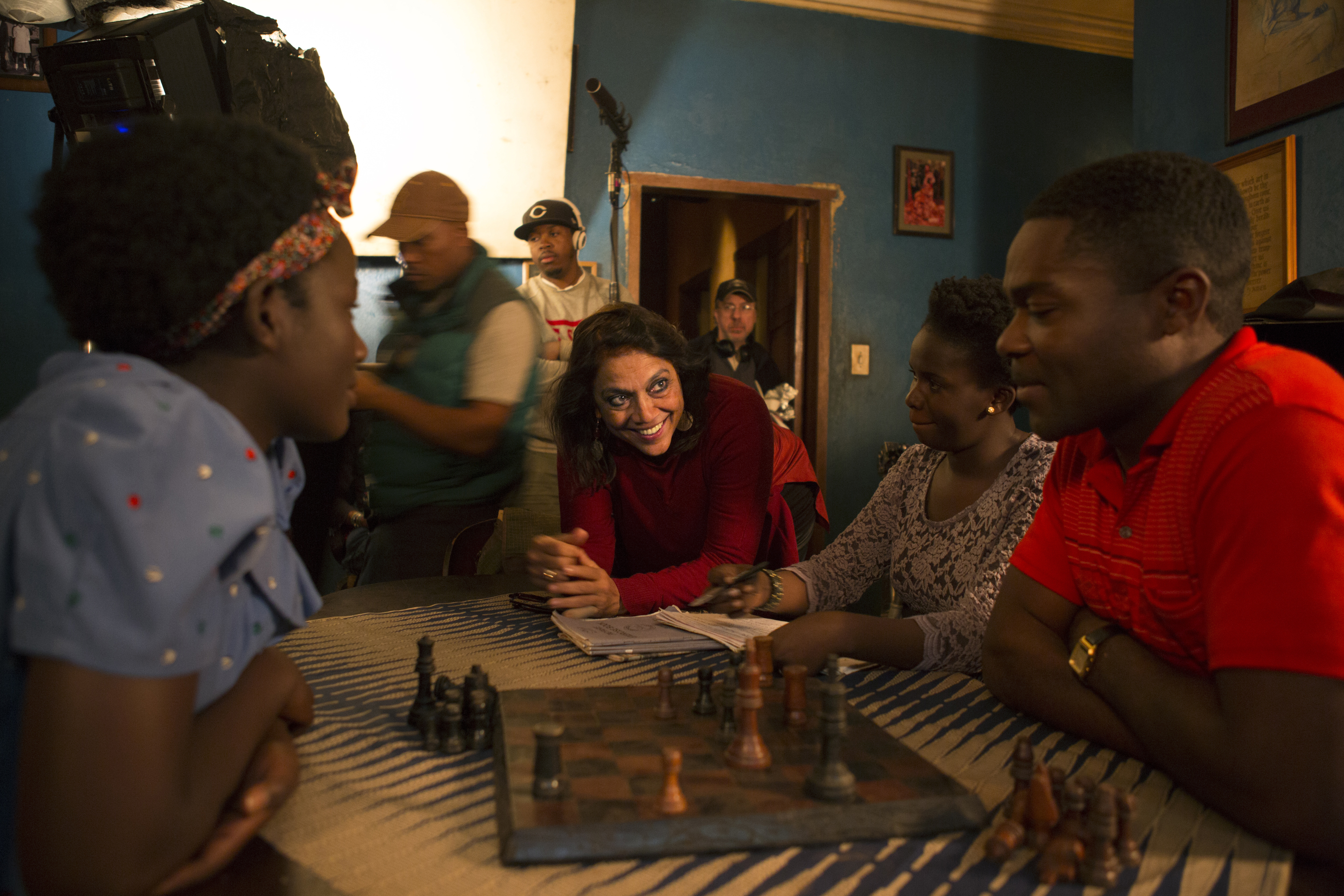 "Disney's ""Queen of Katwe"" Celebrates Diverse Cast and Filmmakers"