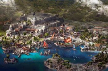 Shanghai Disneyland's Treasure Cove Unveiled