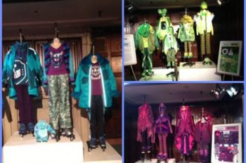 Student Fashion Designs Inspired by 'Monsters University' on Display at El Capitan Theatre in Hollywood