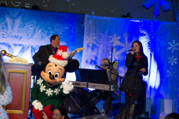 The Holidays Arrive at The Walt Disney Studios Lot