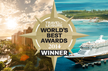 Disney Cruise Line and Aulani Receive World's Best Awards from 'Travel + Leisure' Readers
