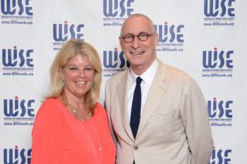 WISE Presents 2016 Champion Award to ESPN's John Skipper