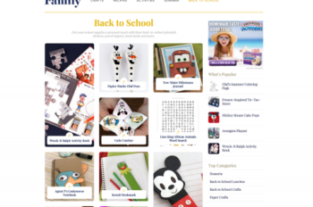 Disney Interactive Introduces a New Disney Family Site