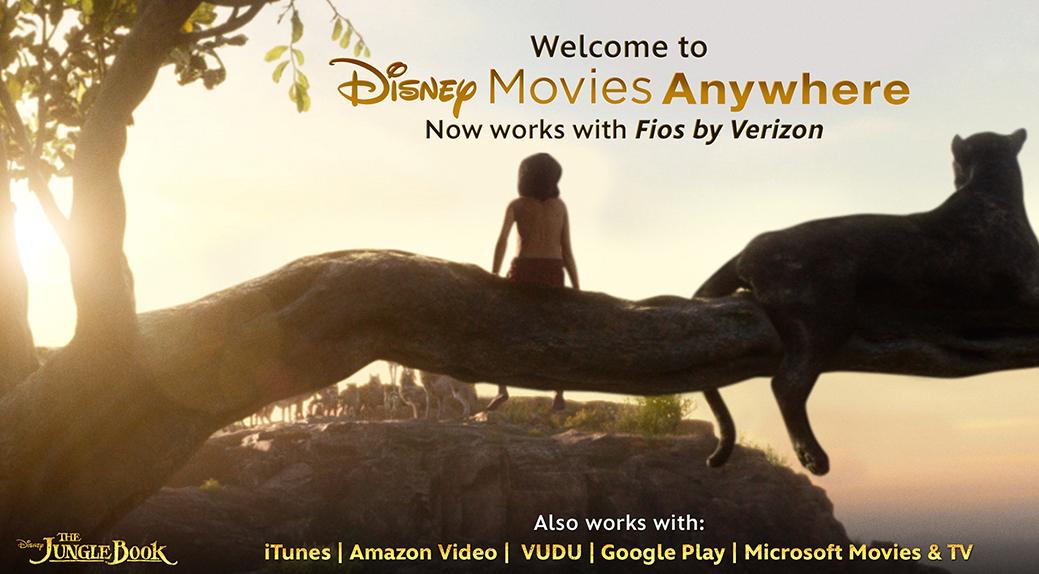 Disney Movies Anywhere Adds Fios by Verizon - The Walt