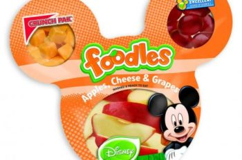 Disney Consumer Products Triples Sales of Disney-Branded Fruits and Vegetables