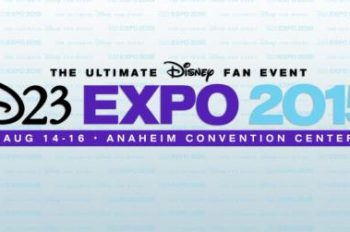 D23 Expo 2015: The Ultimate Disney Fan Event Tickets on Sale Thursday, August 14